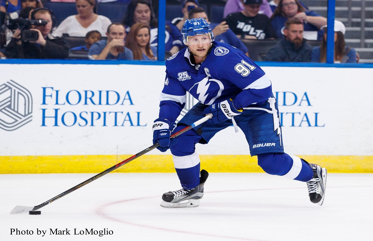 tampa bay lightning captain steven stamkos feels he 39 s far from playing his best. Black Bedroom Furniture Sets. Home Design Ideas
