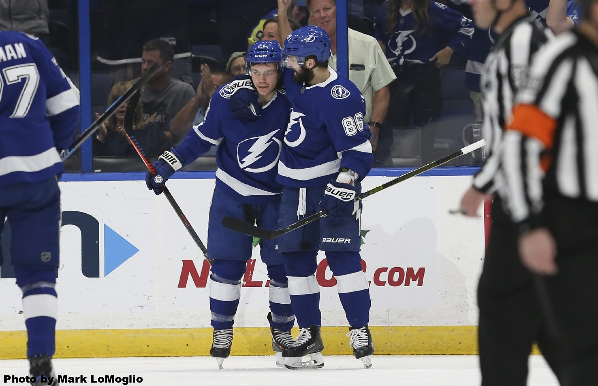 57cdce973f5 Quick strike Tampa Bay Lightning overwhelm another opponent