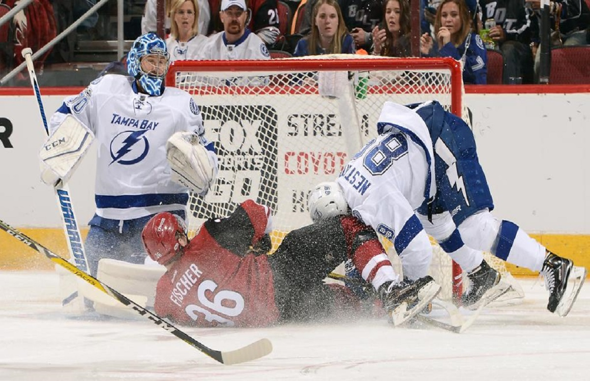 tampa bay lightning hit a new low point in a season full of them